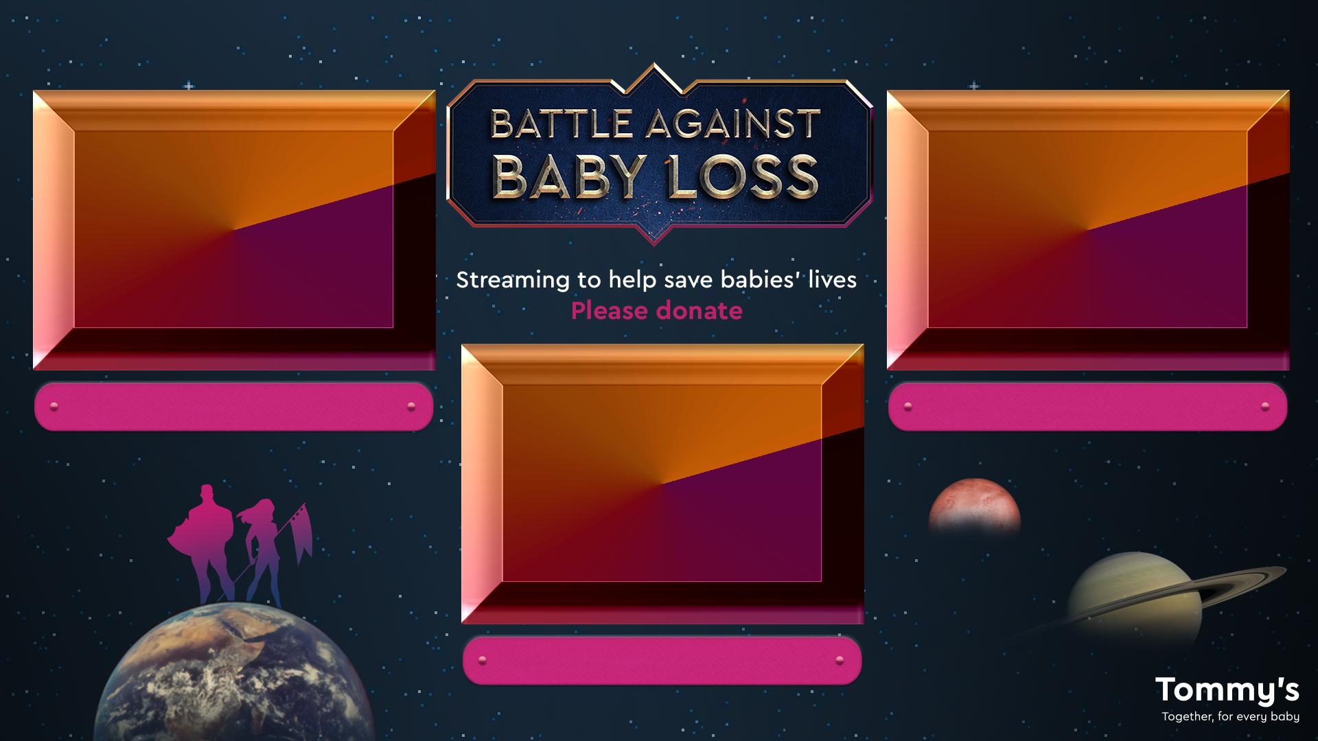 Screen Overlay - 3 Players